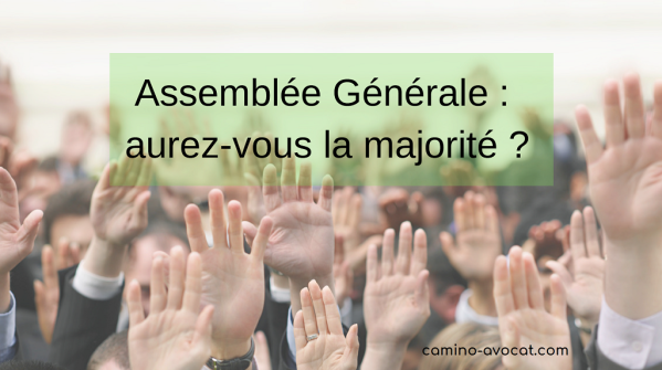 AG Association Quorum Majorité Vote