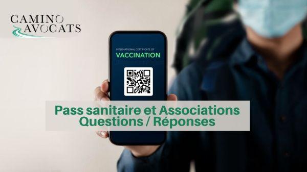 pass sanitaire et associations